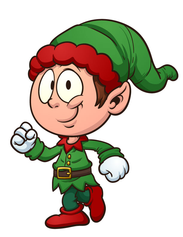 christmas elf clipart free - photo #26