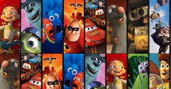Disney Pixar Characters to Film Trivia