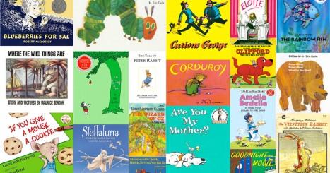 100 Top Children's Books List Challenge