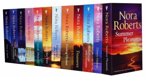 200 Nora Roberts Books List Challenge