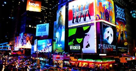 60 Broadway Shows List Challenge