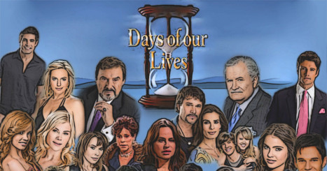 100 Days of our Lives Characters List Challenge