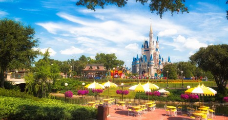 Disney Magic Kingdom Attractions List Challenge