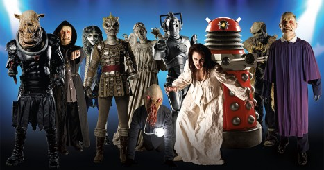 Doctor Who Monsters List Challenge