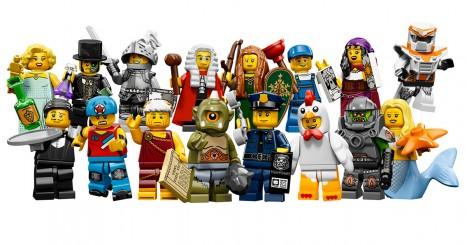 Lego Minifigures List Challenge