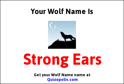Wolf Name Generator