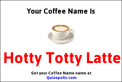 Coffee Name Generator