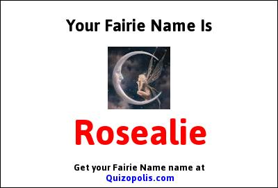 Fairie Name Generator