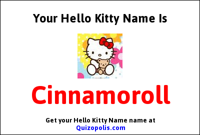 Hello Kitty Name Generator