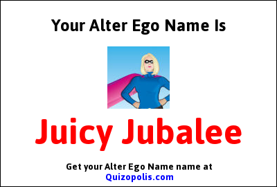 Alter Ego Name Generator