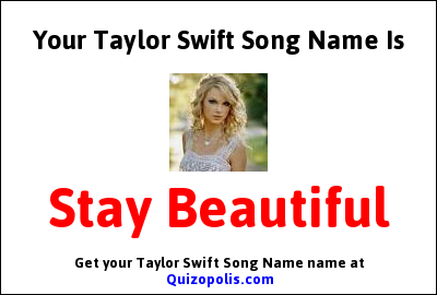 Taylor Swift quiz