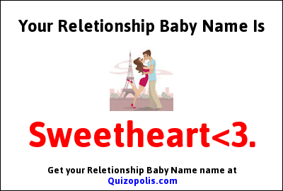 Reletionship Baby Name Generator