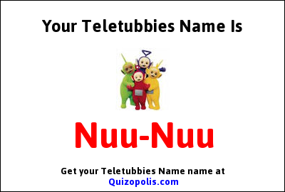 Teletubbies Name Generator