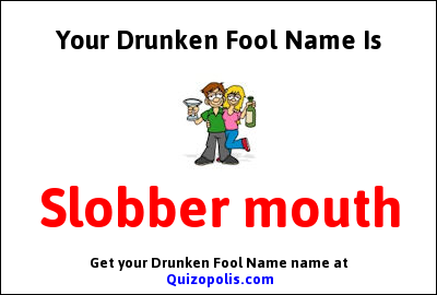 Drunken Fool Name Generator