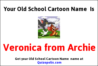 Old School Cartoon Name  Generator