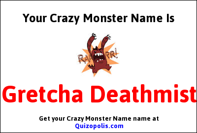 Crazy Monster Name Generator