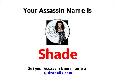 Assassin Name Generator