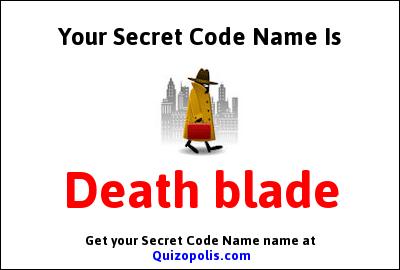 Secret Code Name Generator