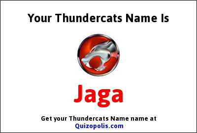 Thundercats Name Generator
