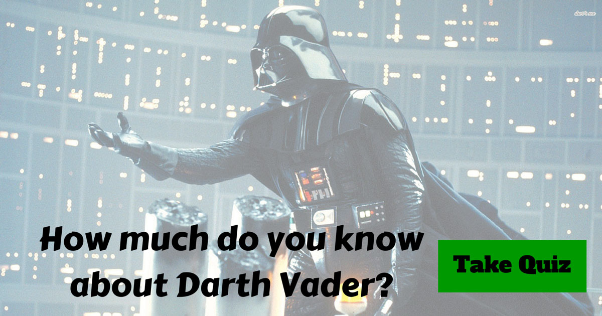 darth sidious and vader relationship quiz