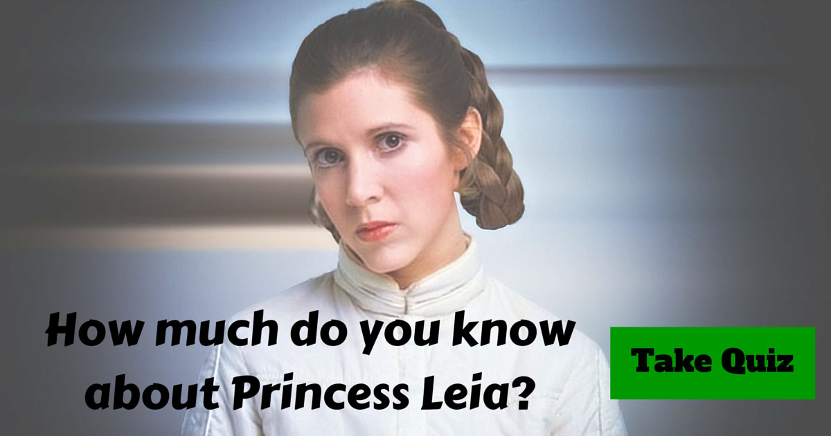 Princess Leia Trivia Test