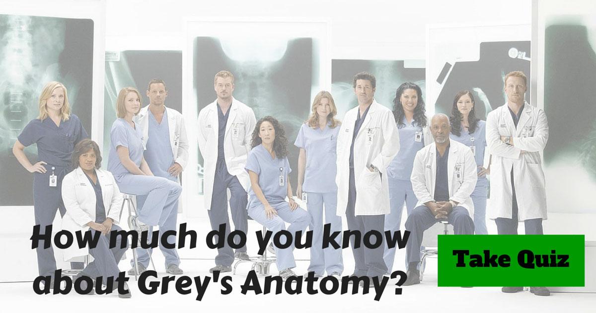 Grey Anatomy Trivia