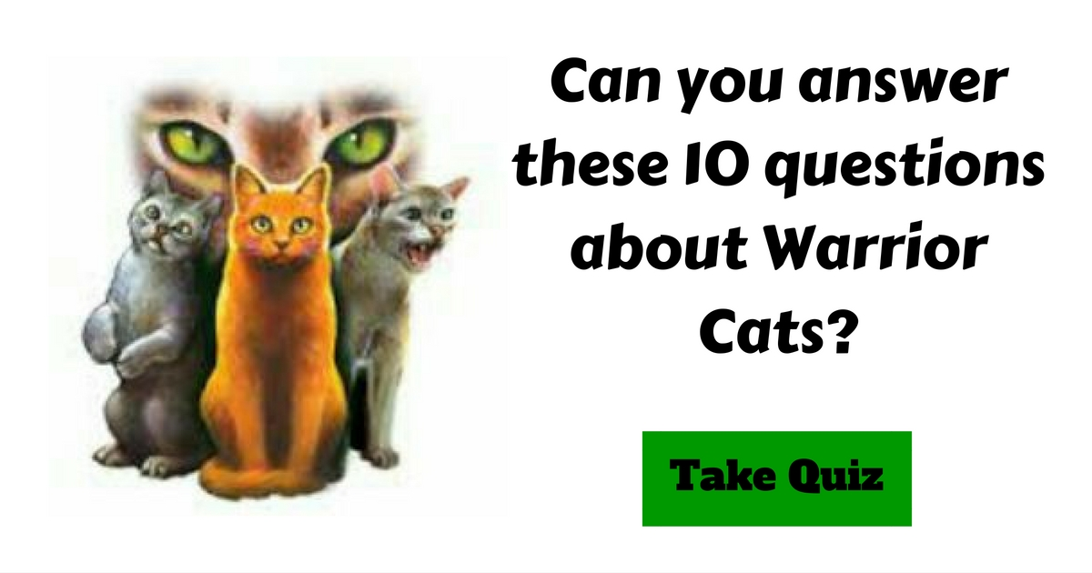Warrior cats name quiz proprofs - Xuc coin dozer endoscopy